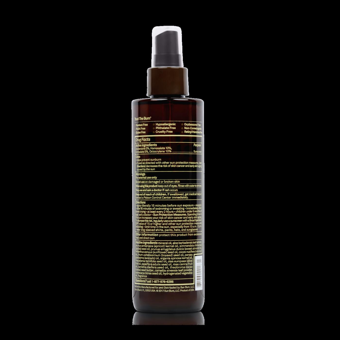 SUN BUM Sun Bum SPF 15 Sunscreen Tanning Oil