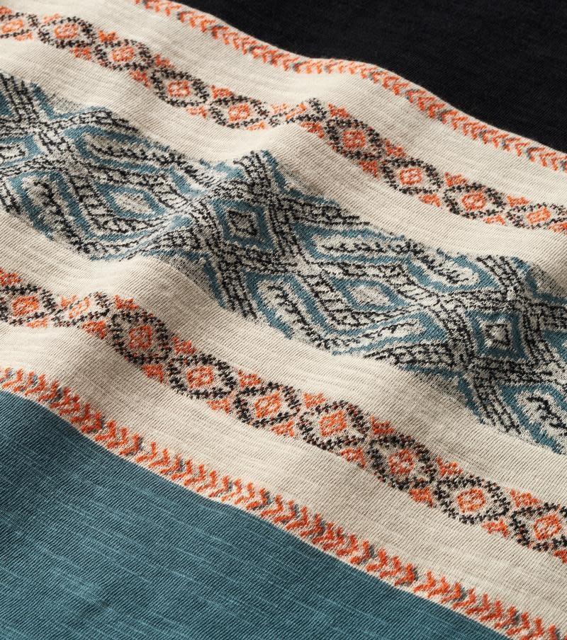 ROARK Roark Men's Kilim Jacquard Knit T-Shirt