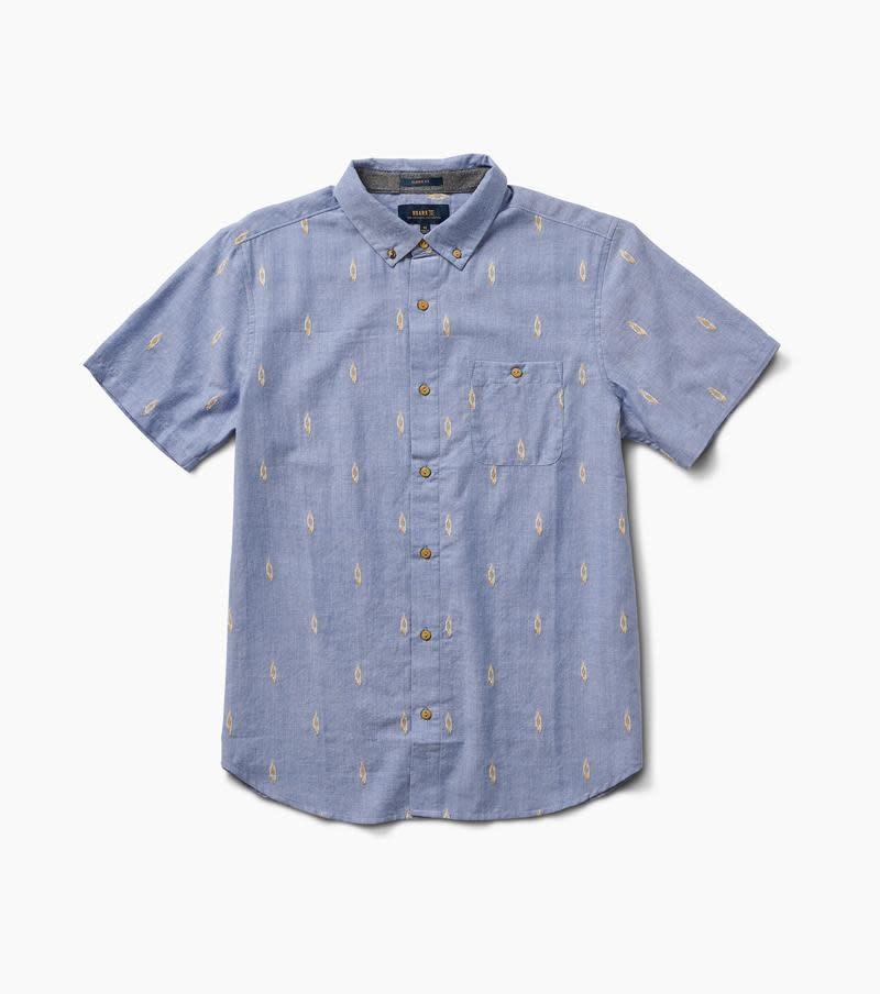 ROARK Roark Men's Ikat Dobby Button Up Shirt