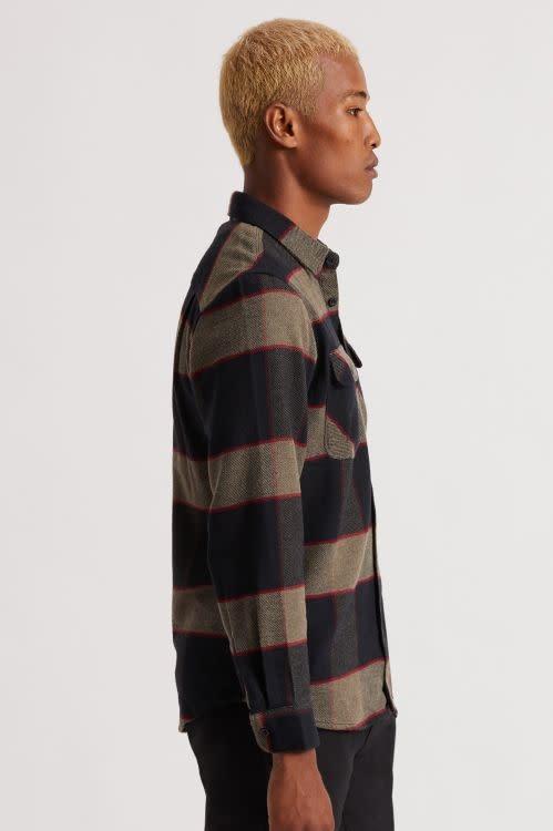 Brixton Brixton Men's Bowery L/S Flannel Shirt