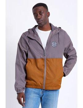 Brixton Brixton Men's Claxton Crest Lightweight Zip Hood Jacket