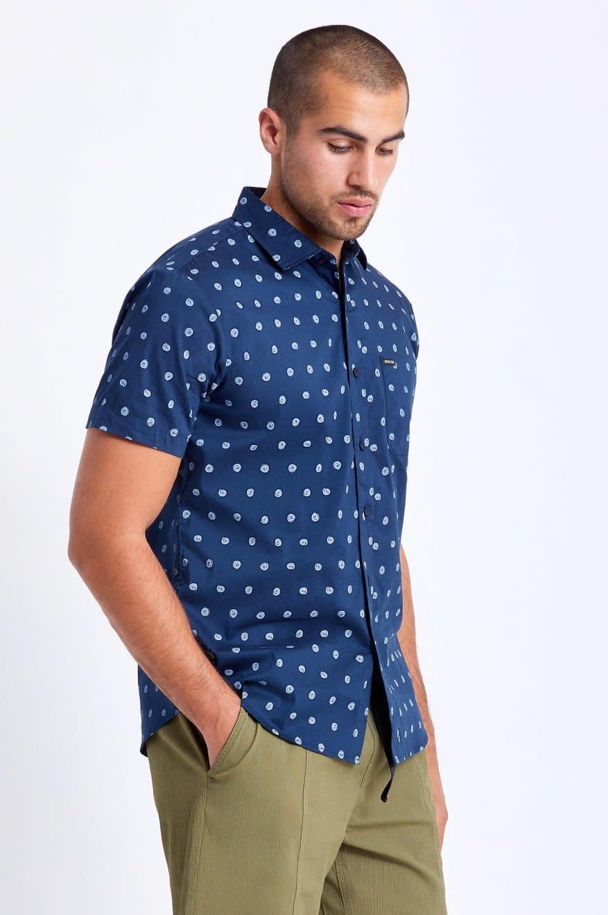 Brixton Brixton Men's Charter Print S/S Woven Shirt
