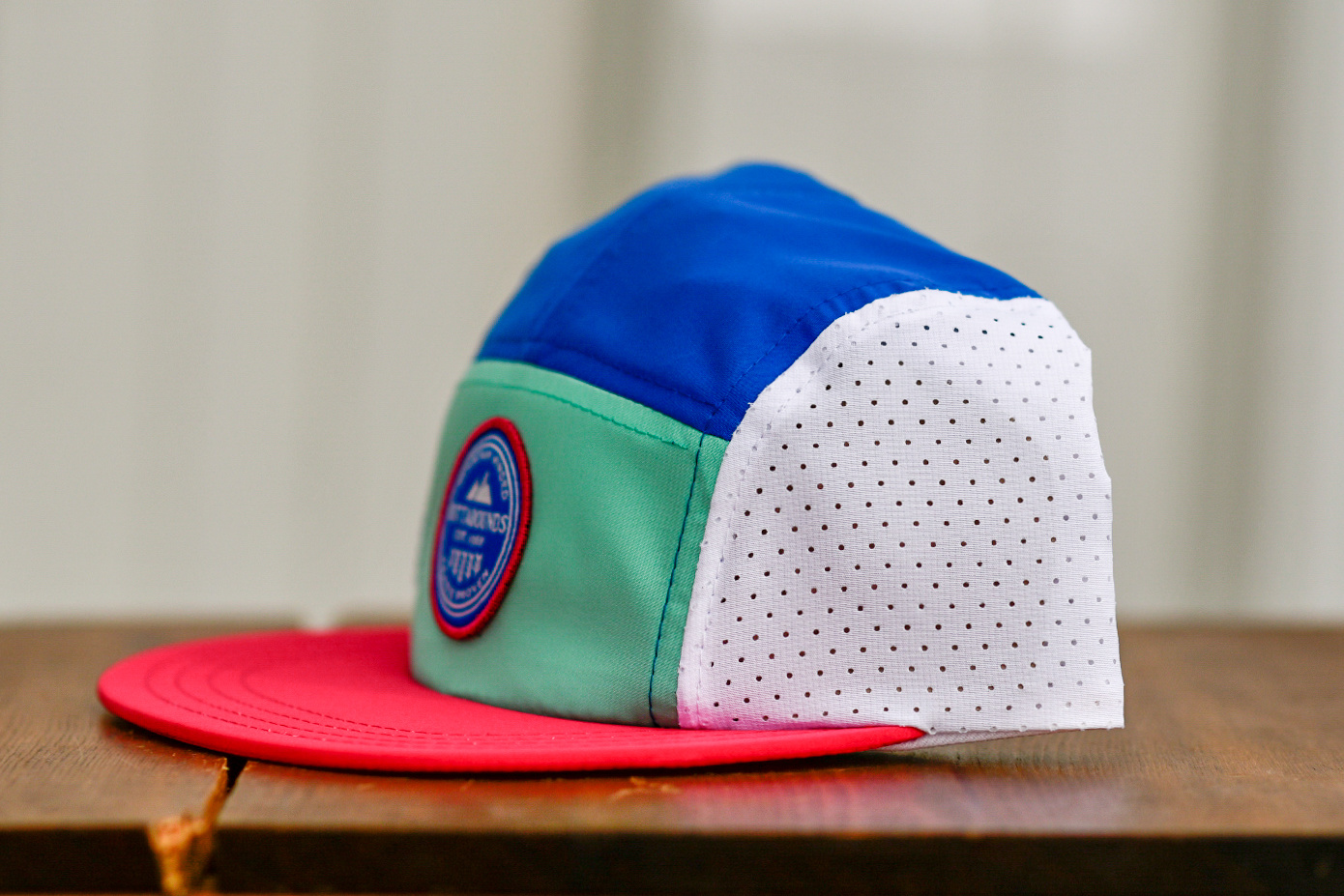 OUTTABOUNDS Outtabounds Colour Block 5 Panel Hat