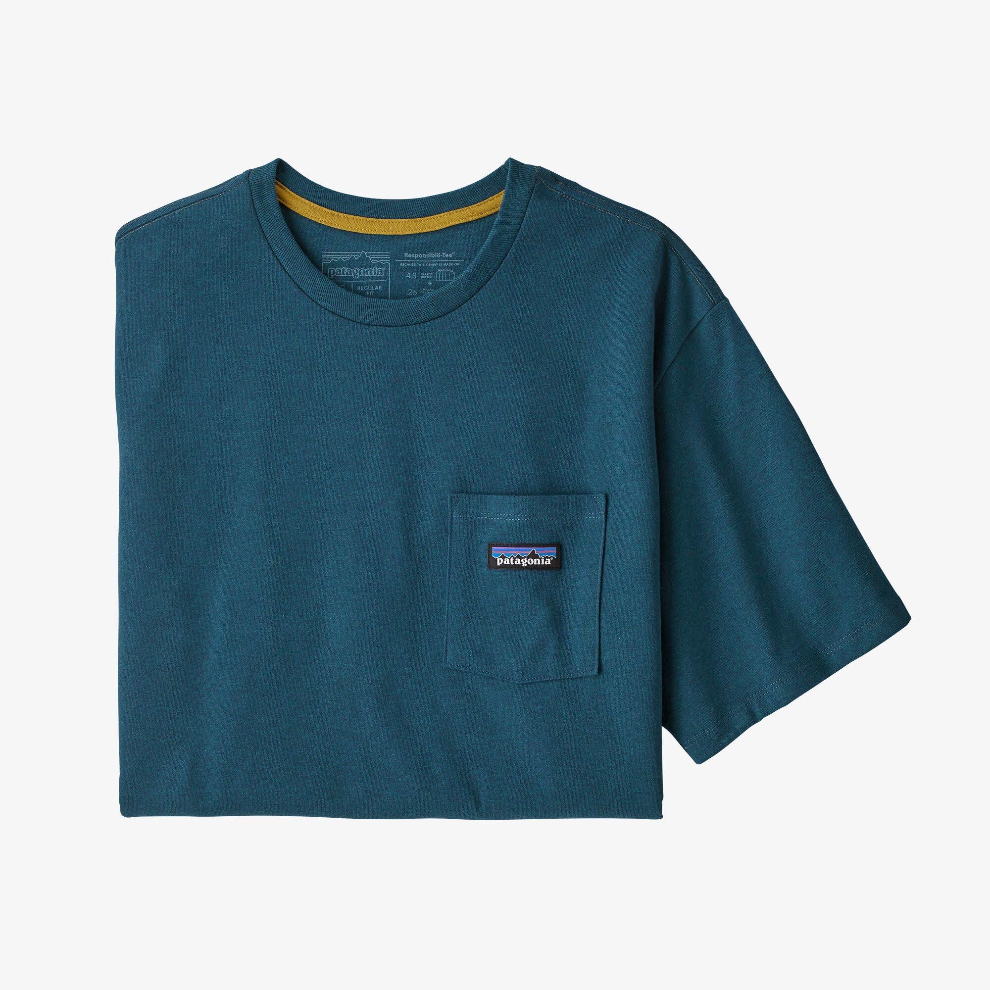 Patagonia Patagonia Men's P-6 Label Pocket Responsibili-Tee