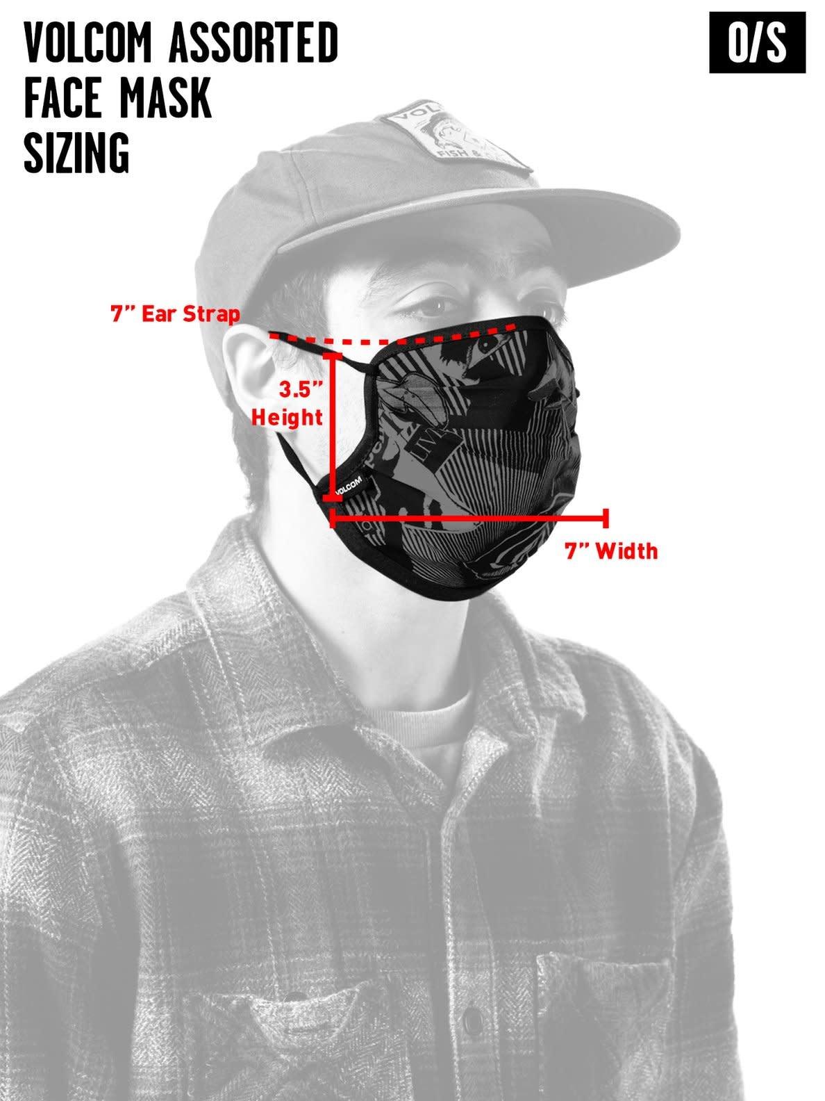 Volcom Volcom Assorted Face Mask
