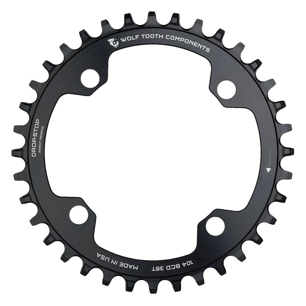 WOLF TOOTH Wolf Tooth 104 BCD Chainring (34T Drop Stop)