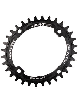 Burgtec Burgtec Oval 104mm BCD Thick Thin Chainring (32T)