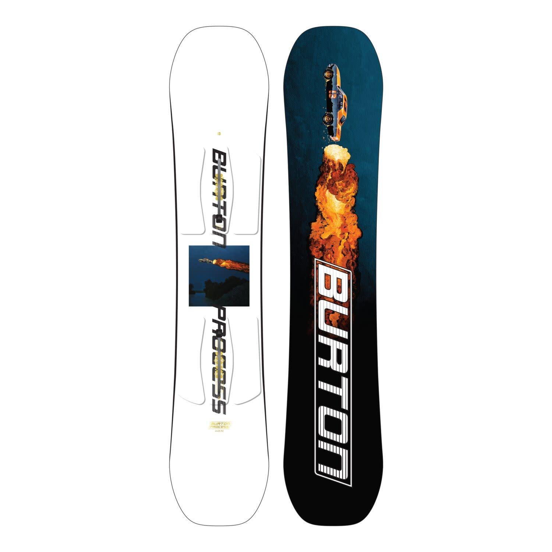 Burton Burton Kids Process Smalls Flat Top Snowboard (2022)