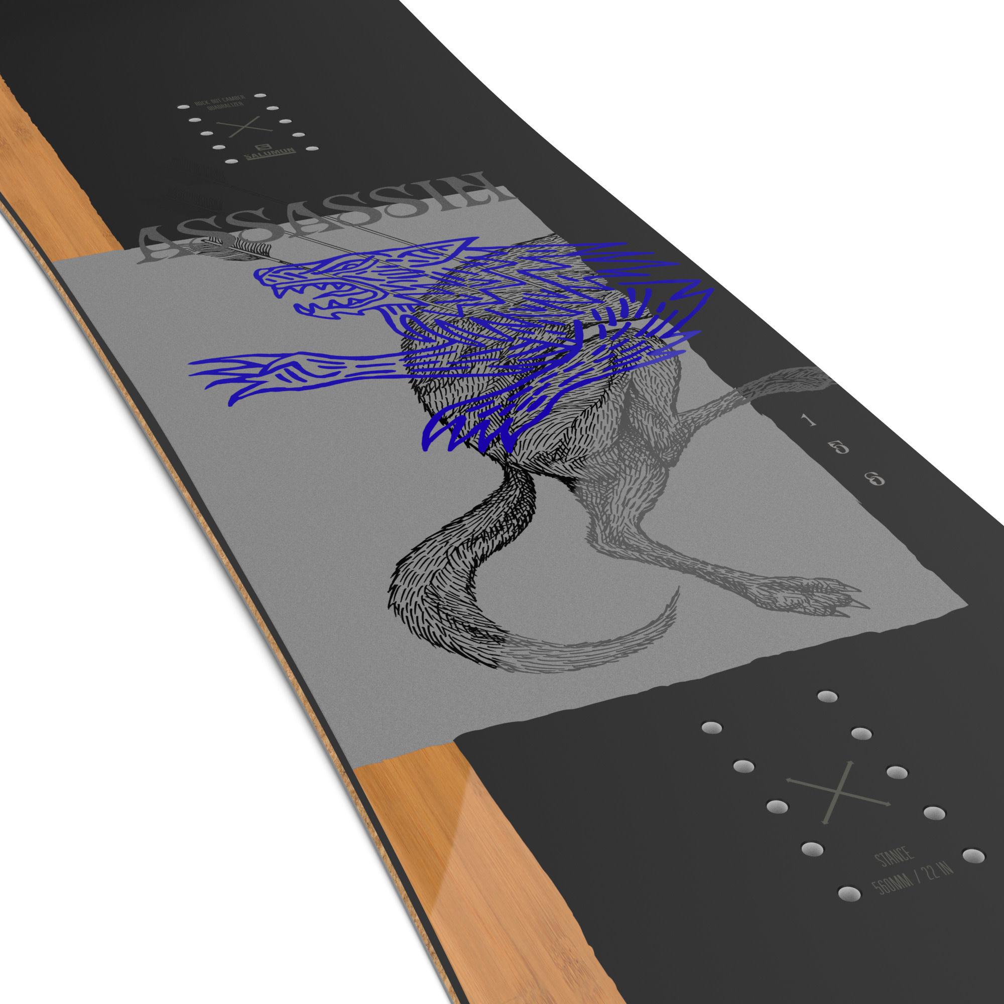 Salomon Snowboard Salomon M's Assassin Snowboard (2022)