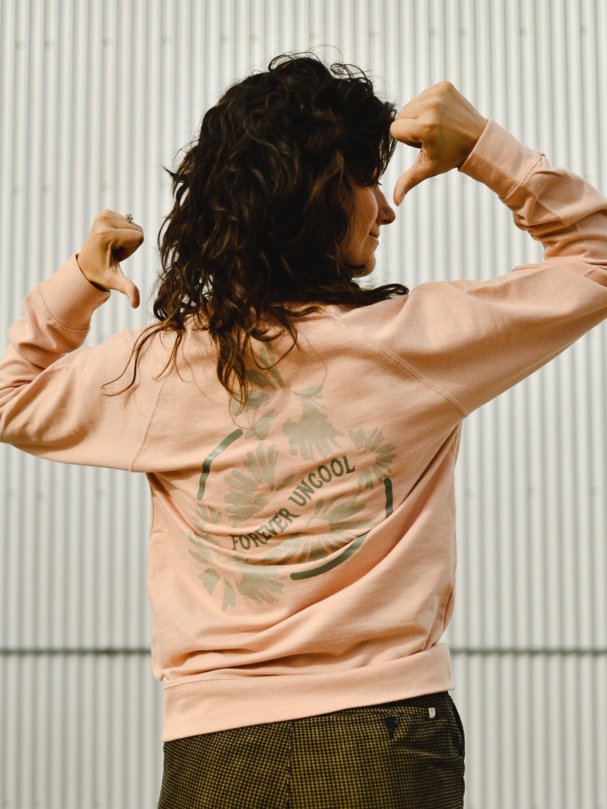 Outtabounds Outta Forever Uncool Crewneck