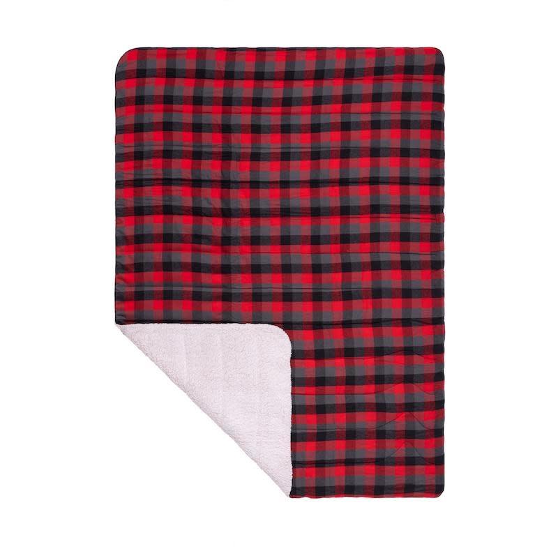 RUMPL Rumpl Sherpa Flannel Blanket