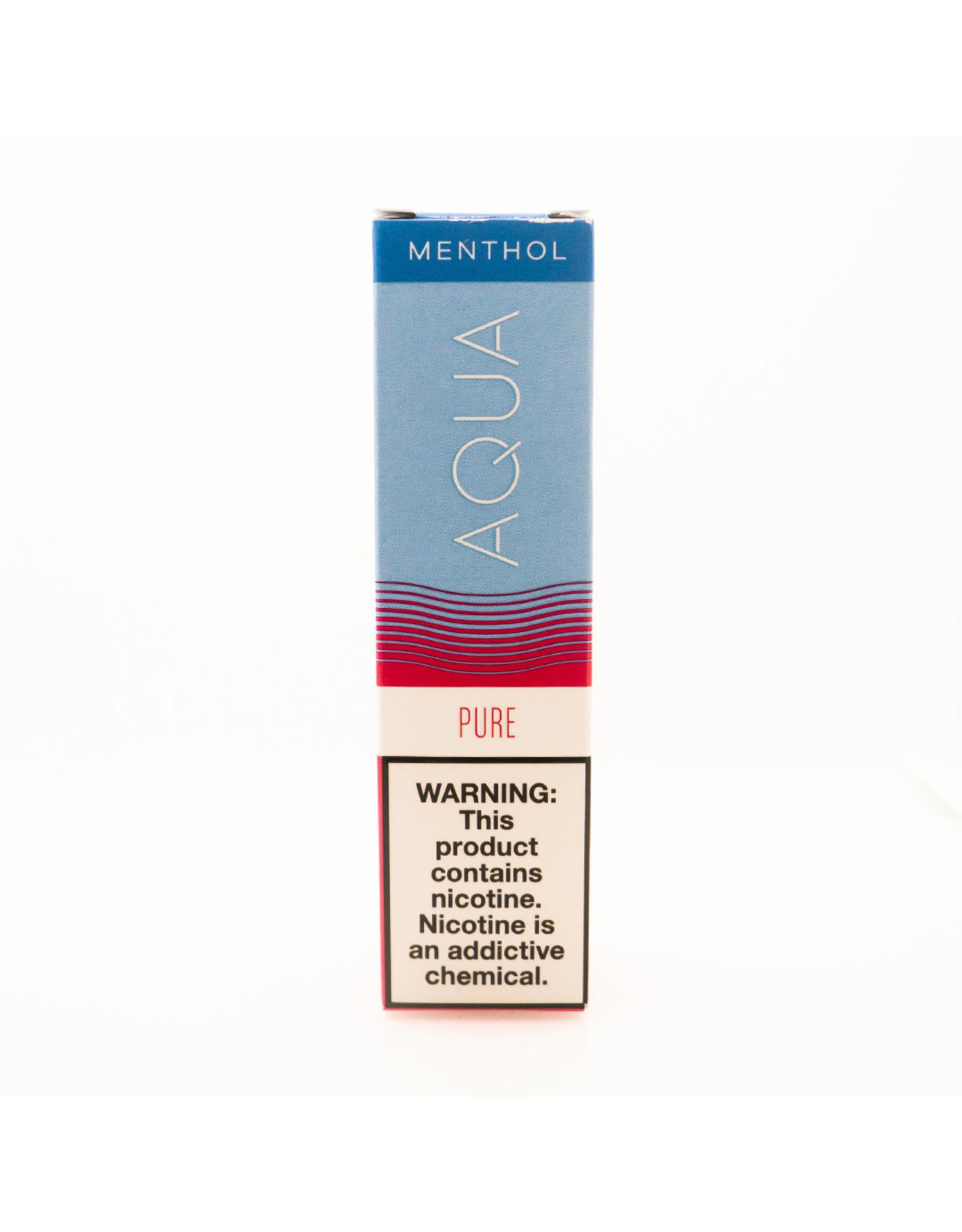 Aqua Aqua: Menthol-