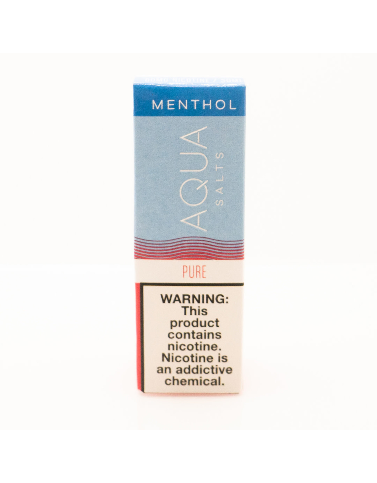 Aqua Aqua Salts: Menthol Salt Liquid-