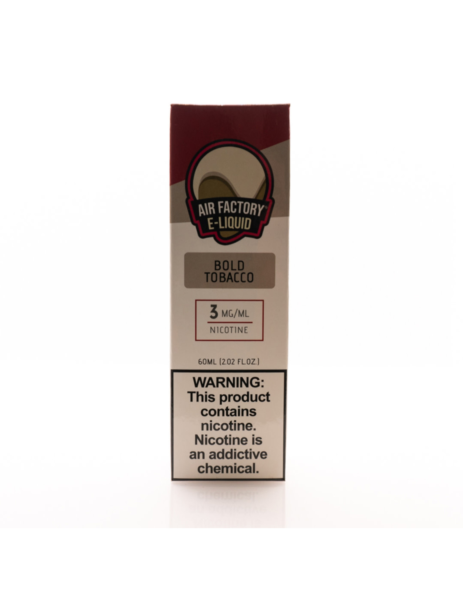 Air Factory Air Factory 60ml E-Liquid: Tobacco-