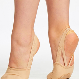 CAPEZIO STRETCH CANVAS HALF SOLE