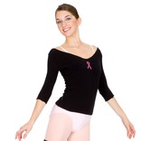 GRISHKO CANADA PINK RIBBON SWEATER