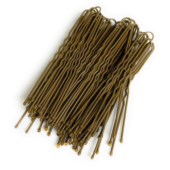 """FH2 U-Shaped 3"""" Hair Pins 60 Pack"""