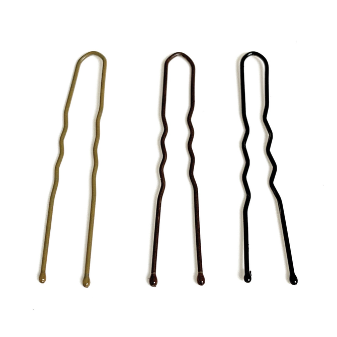 """FH2 U-Shaped 2"""" Hair Pins 100 Pack"""