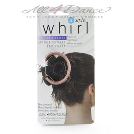 WHIRL-A-STYLE Whirl-a-Style Bun Maker, Copper, SML