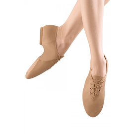 "BLOCH JAZZ  SHOE ""LACE UP"" TAN by Bloch"