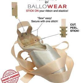 BALLOWEAR POINTE STRIPS By Ballowear