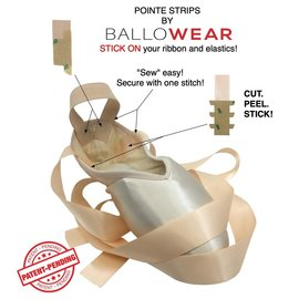BALLOWEAR POINTE STRIPS By Ballowear