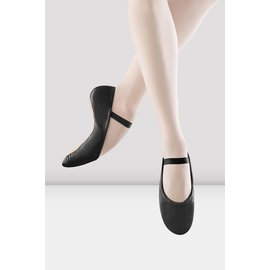"BLOCH ""Dansoft"" Black ADULTS Full Sole"