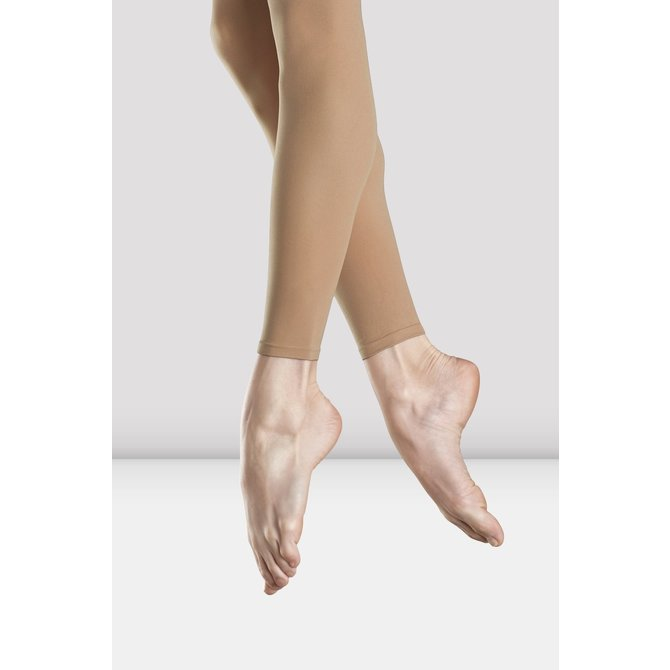 BLOCH T0940 BLOCH FOOTLESS TIGHTS - LIGHT TAN