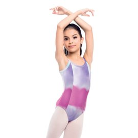 SO DANCA Kids Tie Dye Bodysuit (Limited Edition)