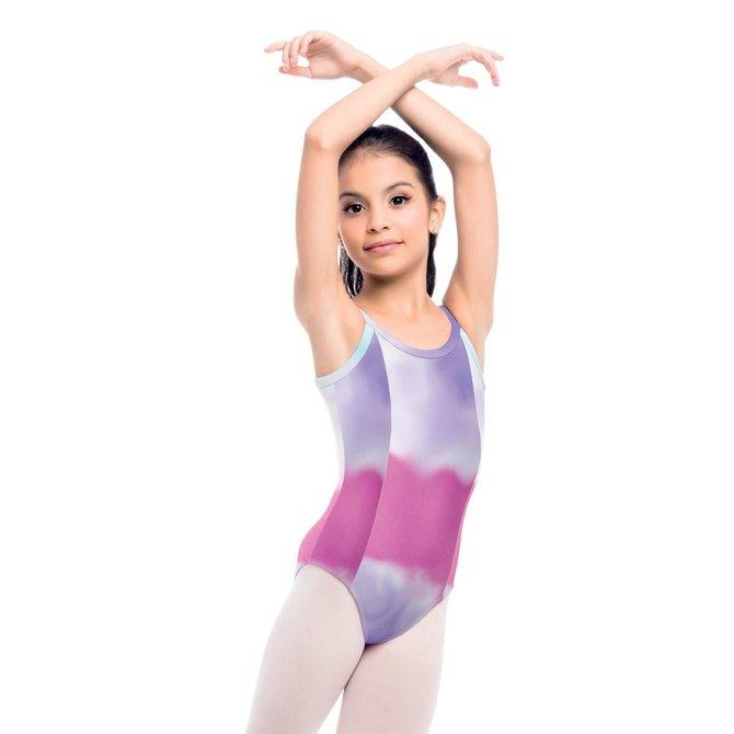 SO DANCA Kids Tie Dye Bodysuit (Limited Edition)