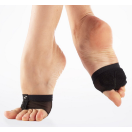 CAPEZIO Petite, FOOT UNDEEZ, BLACK