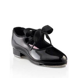 "CAPEZIO N625 ""Black"" GIRLS JR TYETTE"