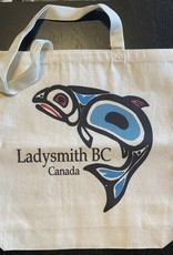 Ladysmith Salmon Shopping Bag