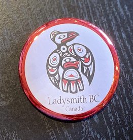 Ladysmith Loon Magnet (Red)