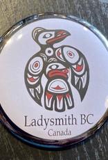 Ladysmith Loon Magnet (Black)