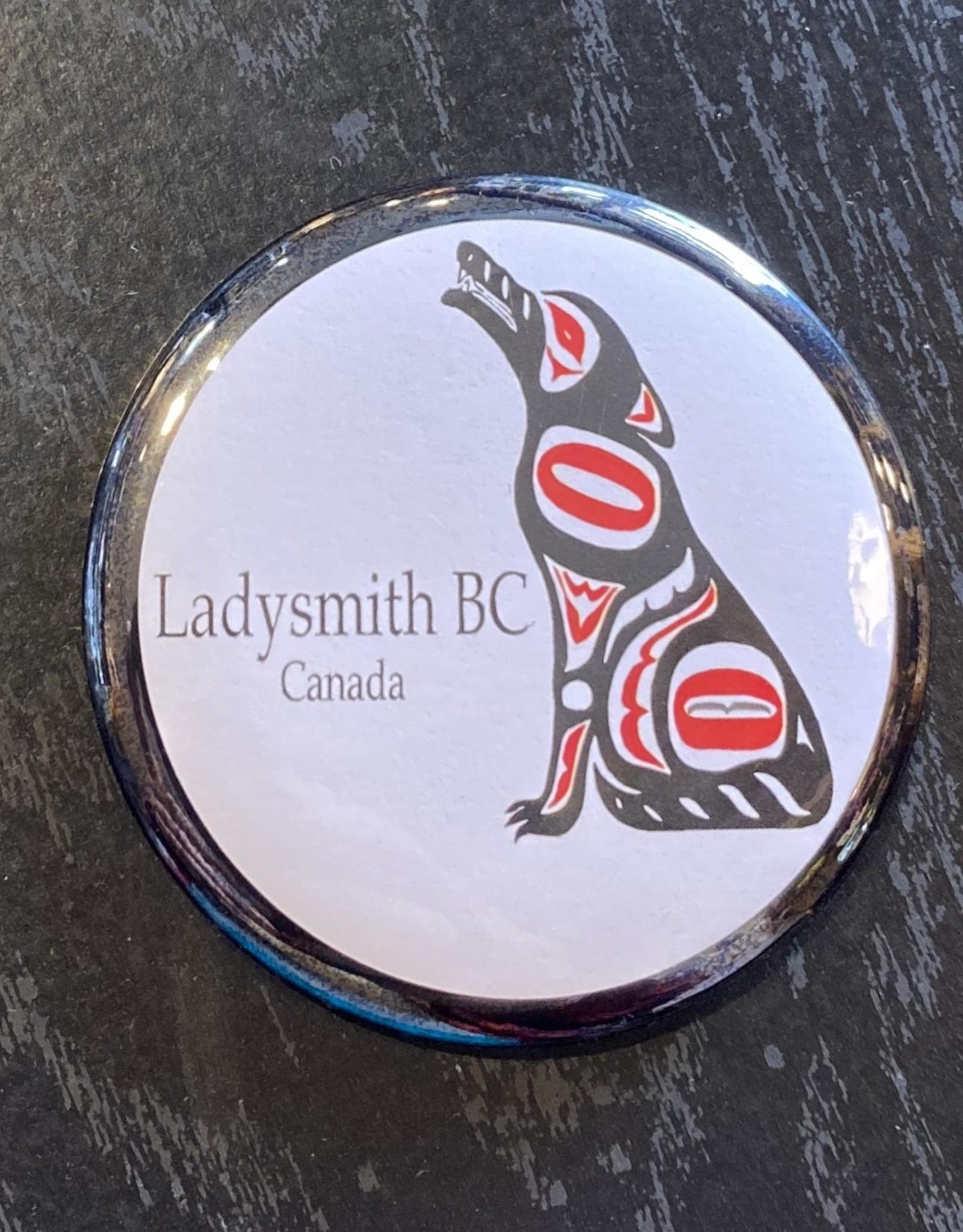Ladysmith Wolf Magnet (Black)