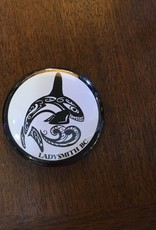 Ladysmith Whale Magnet Black