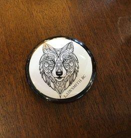 Wolf Magnet Black