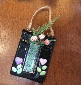 Purple Pigeon Treasures Glass wall vase magnet