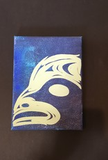 "Native Canvas Painting (9"")"