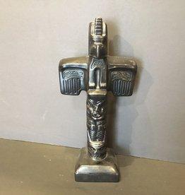 Aboriginal - Native Resin Totem (11inch tall)