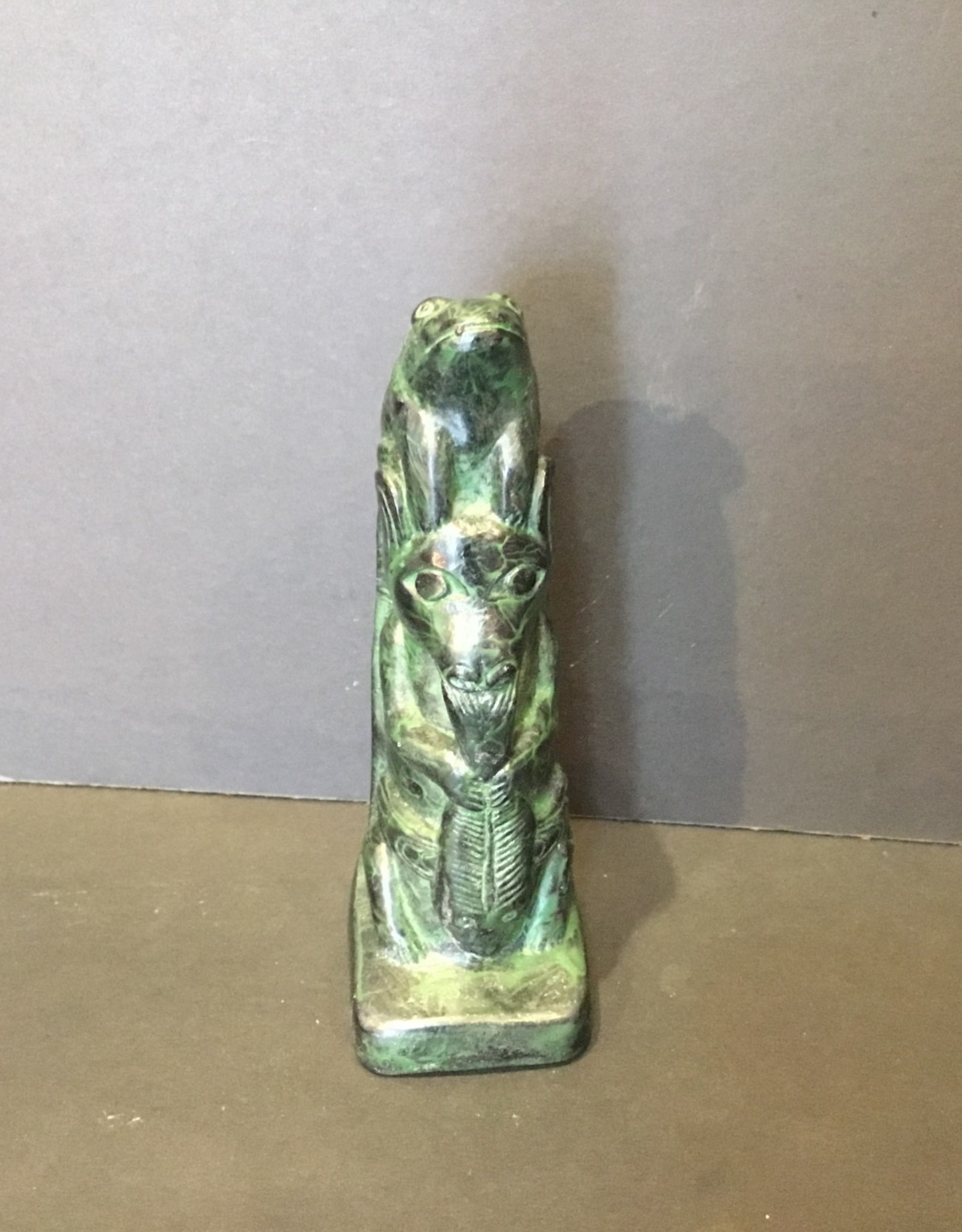 Purple Pigeon Treasures Native carving Totem (5.5inch tall)