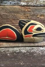 Aboriginal - Native Carving Loon (7inch long)