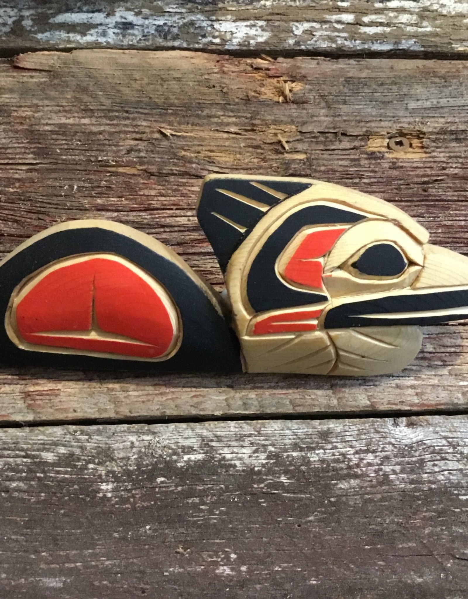 Native Carving Loon (7inch long)