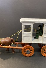 Cast Iron Toy Milk wagon