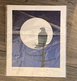 Purple Pigeon Treasures Card - Eagle's Moon
