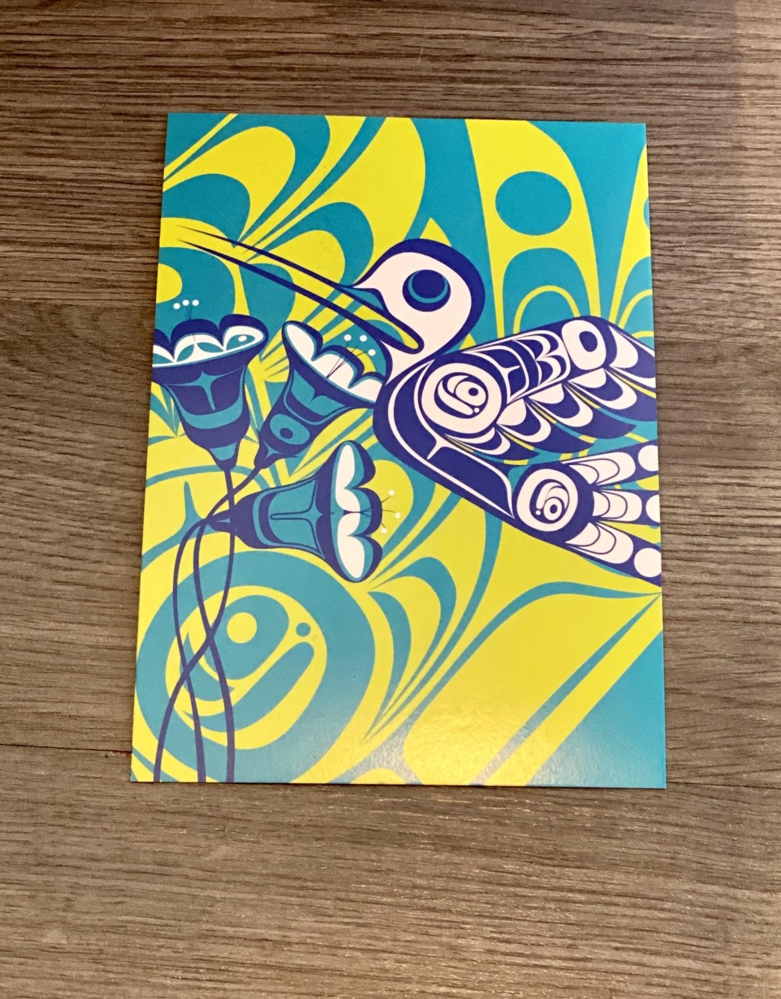 Post Card - Hummingbirds