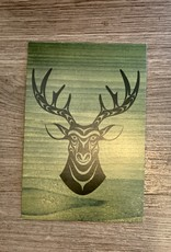 Post Card - Deer
