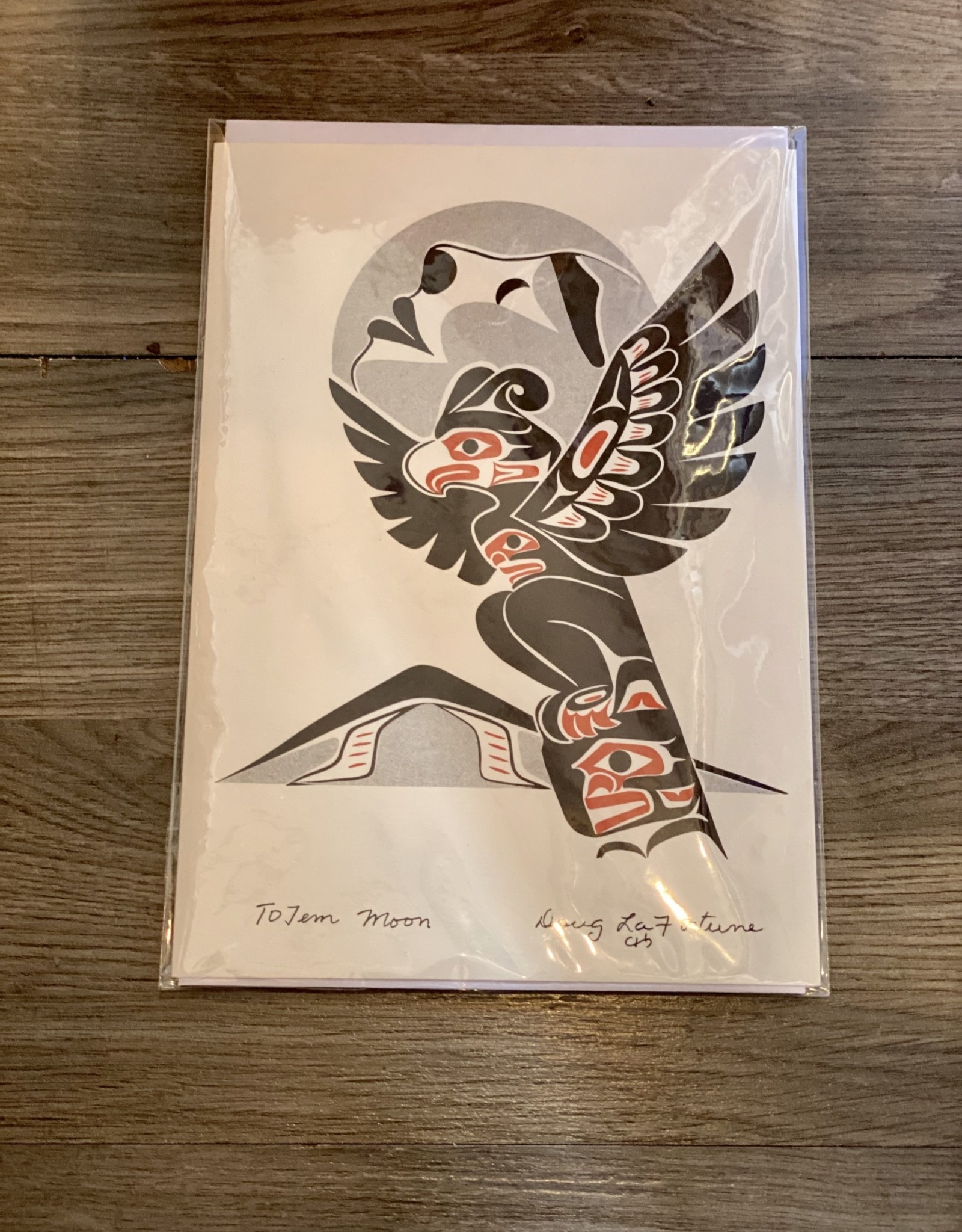 Card - Totem Moon