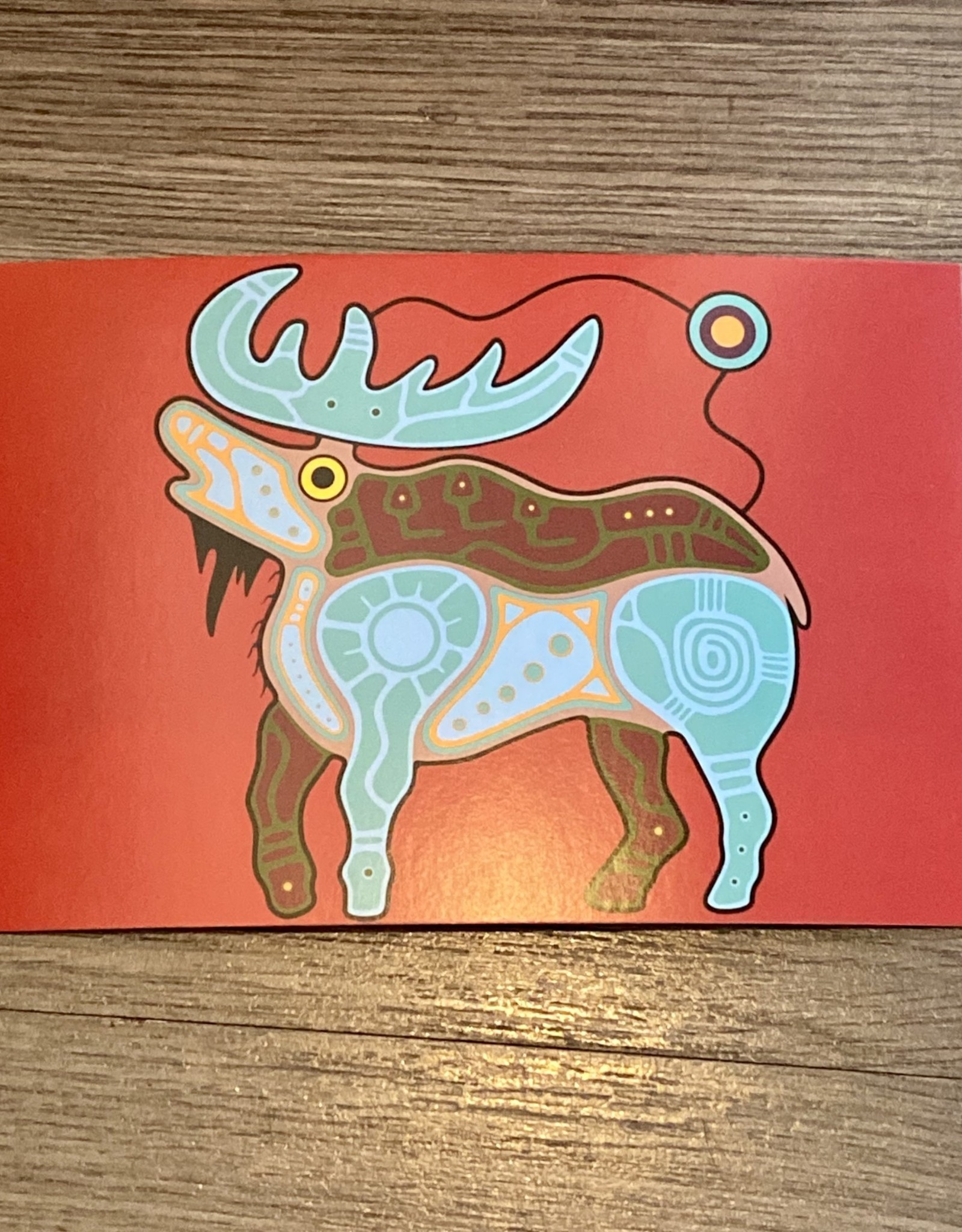 Post Card - Moose